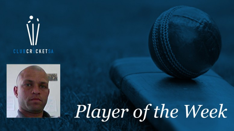 Club Cricket SA Player of the Week: Ashley Botha
