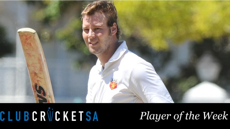 Club Cricket SA Player of the Week: Derek Mitchell