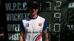 Steyn pictured at the Vineyard Oval on Saturday, 27 February 2016.
