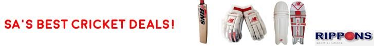 Rippons Sporst Advert - Best Cricket Deals
