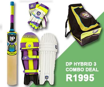 Rippons Sporst Advert - Best Cricket Deal DP Hybrid 3 Combo