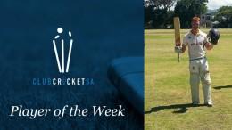 Club Cricket SA Player of the Week: Nicholas Scott