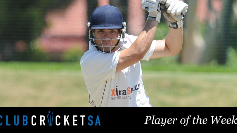 Handre Theron - Club Cricket SA Player of the Week