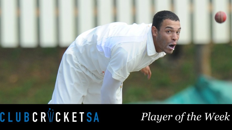 Jody Lawrence Club Cricket SA Player of the Week