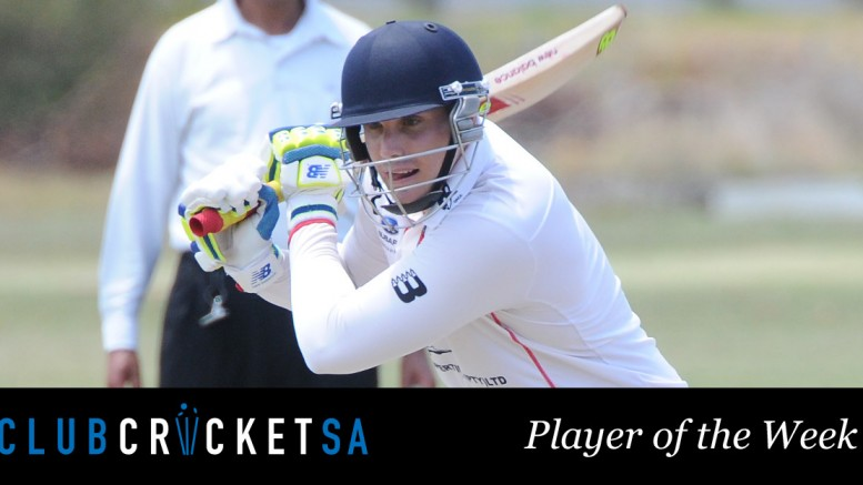 Michael Pote Club Cricket SA Player of the Week