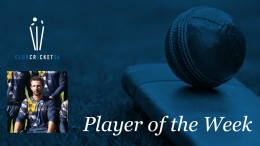 Club Cricket SA Player of the Week Pieter Malan