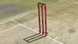 Cricket pitch.
