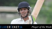 Jonathan Schwerin Club Cricket SA Player of the Week