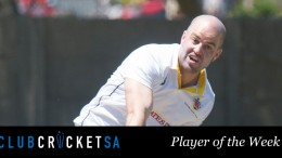 Matt Olsen Club Cricket SA Player of the Week