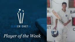 Seth Fledermaus Club Cricket SA Player of the Week