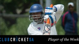 Keenan Bowers Club Cricket SA Player of the Week
