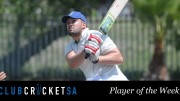 Marco Wyngard Club Cricket SA Player of the Week