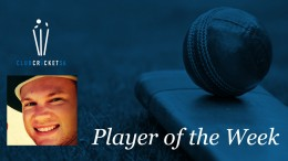 Dwayne Pocock Club Cricket SA Player of the Week