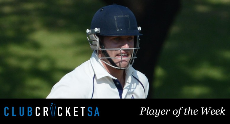 Lenert van Wyk Club Cricket SA Player of the Week
