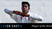 Farhaan Sayanvala Club Cricket SA Player of the Week
