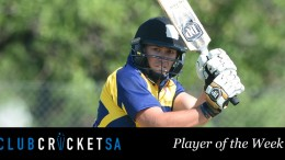 Jurie Snyman Club Cricket SA Player of the Week