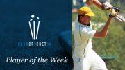 Club Cricket SA Player of the Week Crusaders Cricket Club