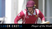 Wihan Lubbe Club Cricket SA Player of the Week