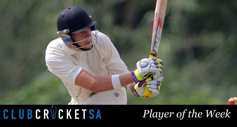 Club Cricket SA Player of the Week: Mark Andrianatos