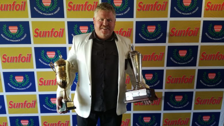 File image: Durbanville Cricket Club chairman Arno Schipper.