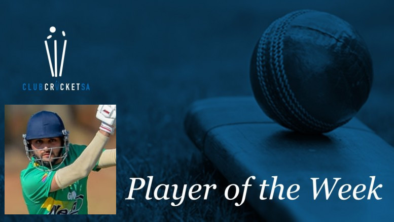 Club Cricket SA Player of the Week: Karan Muggan